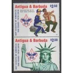 Antigua et Barbuda - 2010 - No 4089/4090 - Scoutisme