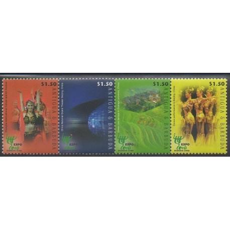 Antigua et Barbuda - 2010 - No 4071/4074 - Exposition