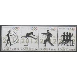 Antigua et Barbuda - 2012 - No 4269/4272 - Jeux Olympiques d'été