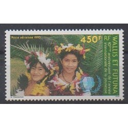 Wallis et Futuna - Poste aérienne - 1995 - No PA187 - Enfance
