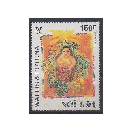 Wallis et Futuna - Poste aérienne - 1994 - No PA184 - Noël