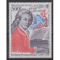 Wallis et Futuna - Poste aérienne - 1991 - No PA172 - Musique