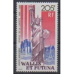 Wallis et Futuna - Poste aérienne - 1986 - No PA154 - Monuments