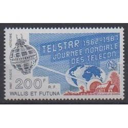 Wallis et Futuna - Poste aérienne - 1987 - No PA156 - Télécommunications
