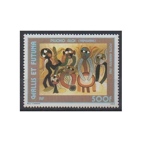 Wallis et Futuna - Poste aérienne - 1985 - No PA143 - Art