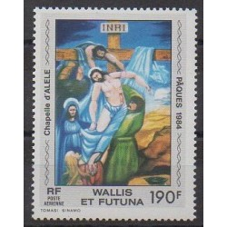 Wallis et Futuna - Poste aérienne - 1984 - No PA135 - Peinture