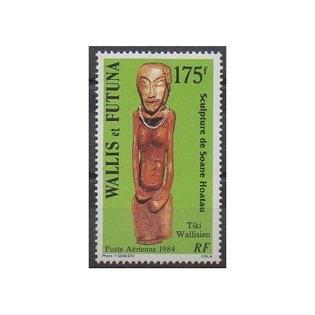 Wallis et Futuna - Poste aérienne - 1984 - No PA137 - Art