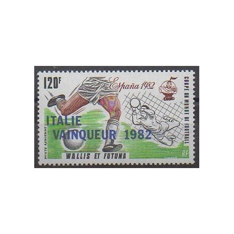 Wallis et Futuna - Poste aérienne - 1982 - No PA119 - Coupe du monde de football