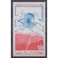 Wallis et Futuna - Poste aérienne - 1982 - No PA120 - Santé ou Croix-Rouge
