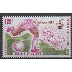 Wallis et Futuna - Poste aérienne - 1982 - No PA116 - Coupe du monde de football