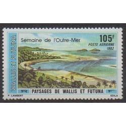 Wallis et Futuna - Poste aérienne - 1982 - No PA118 - Sites