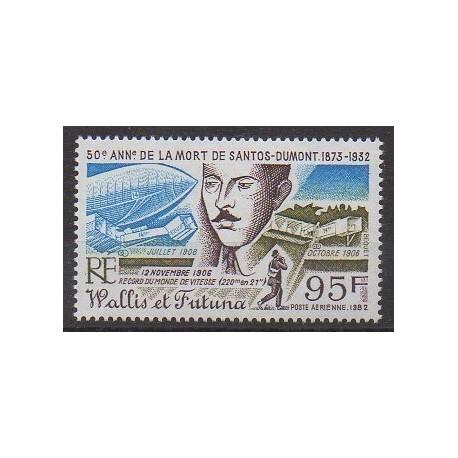 Wallis et Futuna - Poste aérienne - 1982 - No PA117 - Aviation