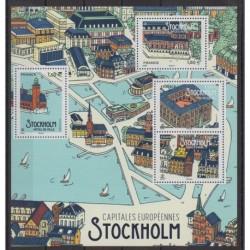 France - Blocs et feuillets - 2021 - BF Stockolm - Sites