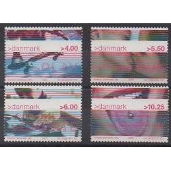 Denmark - 2001 - Nb 1284/1287