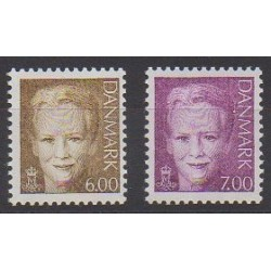 Denmark - 2001 - Nb 1282/1283