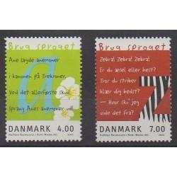 Denmark - 2001 - Nb 1278/1279