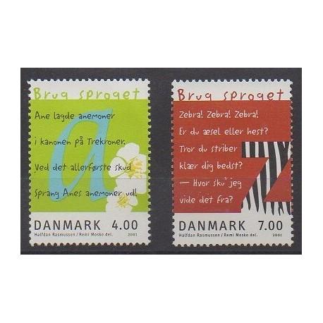 Danemark - 2001 - No 1278/1279