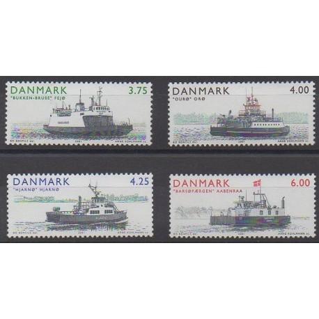 Danemark - 2001 - No 1294/1297 - Navigation