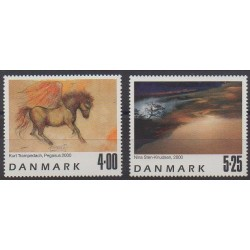 Denmark - 2000 - Nb 1264/1265 - Paintings