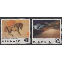 Danemark - 2000 - No 1264/1265 - Peinture