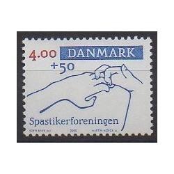 Danemark - 2000 - No 1263 - Santé ou Croix-Rouge