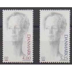 Danemark - 2000 - No 1241/1242 - Royauté - Principauté