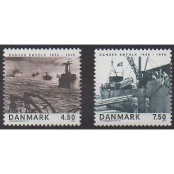 Danemark - 2005 - No 1406/1407 - Seconde Guerre Mondiale