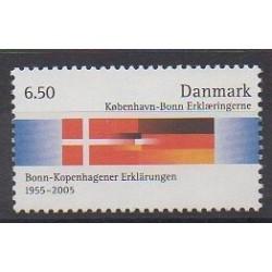 Denmark - 2005 - Nb 1403 - Flags