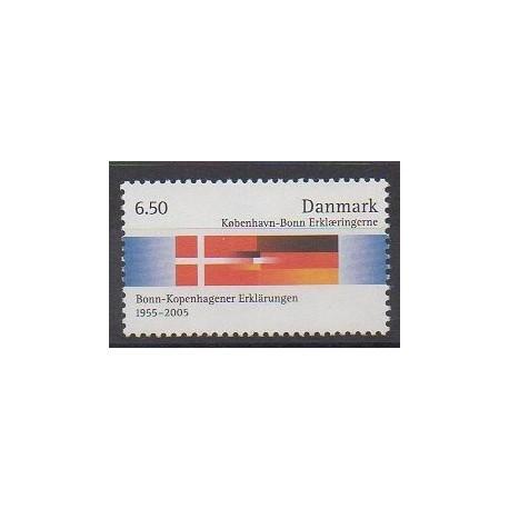 Danemark - 2005 - No 1403 - Drapeaux
