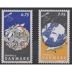 Danemark - 2007 - No 1469/1470 - Sciences et Techniques