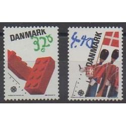 Denmark - 1989 - Nb 953/954 - Childhood - Europa