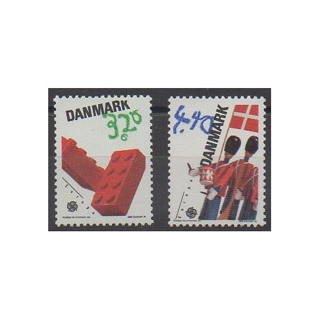 Danemark - 1989 - No 953/954 - Enfance - Europa