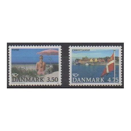 Danemark - 1991 - No 1007/1008 - Tourisme