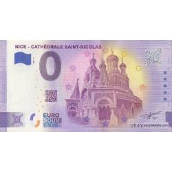 Euro banknote memory - 06 - Nice - Cathédrale Saint-Nicolas - Terminaison 06 - 2021-3 - Anniversary