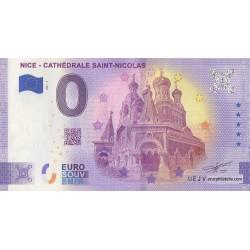 Euro banknote memory - 06 - Nice - Cathédrale Saint-Nicolas - Terminaison 06 - 2021-3