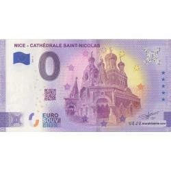 Billet souvenir - 06 - Nice - Cathédrale Saint-Nicolas - 2021-3 - Anniversaire