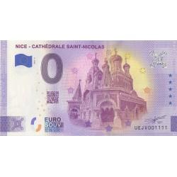 Euro banknote memory - 06 - Nice - Cathédrale Saint-Nicolas - 2021-3 - Nb 1111