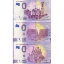 Euro banknote memory - 06 - Special Nice - 3 bankenotes with the same number (2018-1, 2021-2, 2021-3)