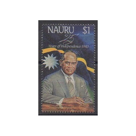 Nauru - 1993 - No 383 - Célébrités