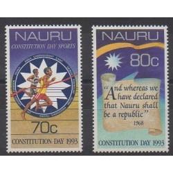Nauru - 1993 - No 384/385 - Histoire
