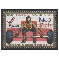 Nauru - 1994 - No 394 - Sports divers