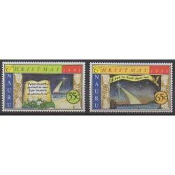 Nauru - 1993 - No 386/387 - Noël
