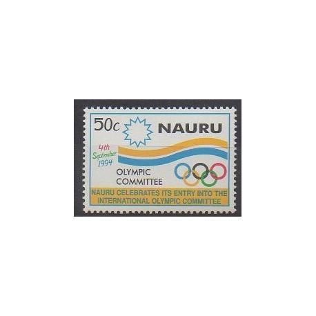 Nauru - 1994 - No 405 - Jeux Olympiques d'été