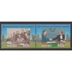 Nauru - 1995 - No 406/407 - Histoire