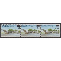 Nauru - 1995 - No 408/410 - Aviation