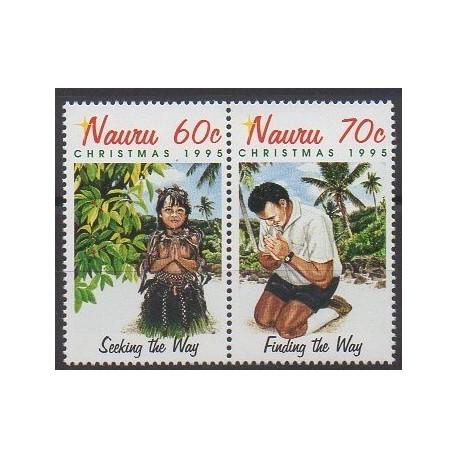 Nauru - 1995 - No 413/414 - Noël