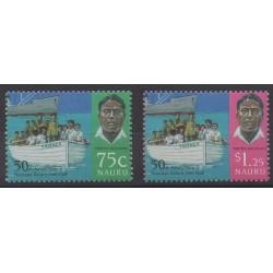 Nauru - 1996 - No 415/416 - Histoire