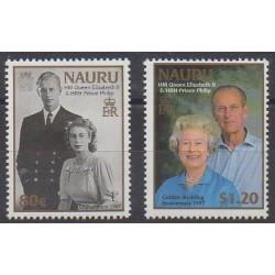 Nauru - 1997 - No 427/428 - Royauté - Principauté