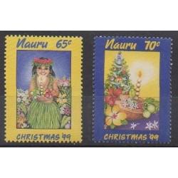 Nauru - 1999 - No 458/459 - Noël
