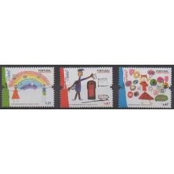 Portugal - 2008 - No 3339/3341 - Dessins d'enfants
